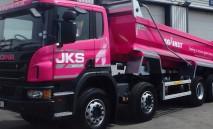 Pink JKS Tipper
